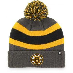47 NHL Boston Bruins Breakaway CUFF KNIT - Zimní čepice