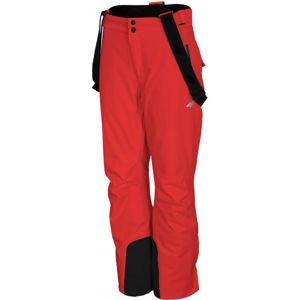 4F WOMEN´S SKI TROUSERS červená M - Dámské lyžařské kalhoty