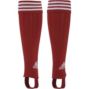 adidas 3 STRIPE STIRRU červená 37-39 - Fotbalové štulpny