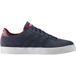 adidas COURT VULC modrá 8.5 - Pánská volnočasová obuv