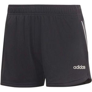 adidas W D2M 3S KT SHT černá L - Dámské šortky