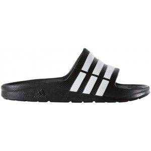 adidas DURAMO SLIDE K černá 33 - Dětské pantofle