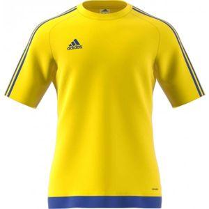 adidas ESTRO 15 JSY žlutá L - Fotbalový dres