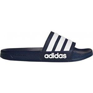 adidas ADILETTE SHOWER modrá 8 - Pánské pantofle
