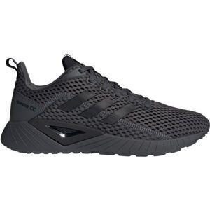 adidas QUESTAR CLIMACOOL tmavě šedá 9.5 - Pánské volnočasové boty