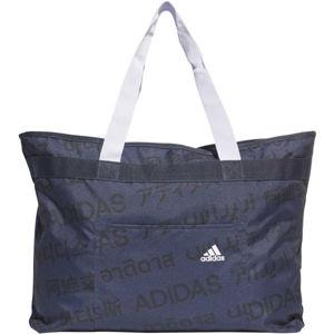 adidas 4ATHLTS TOTE tmavě modrá NS - Dámská taška přes rameno