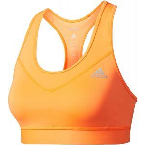 adidas TECHFIT BRA oranžová S - Dámská sportovní podprsenka