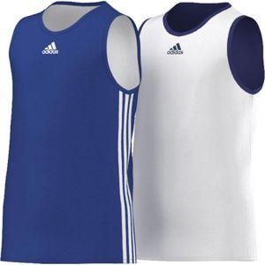 adidas Y TEAM REV JER modrá 140 - Dětský basketbalový dres