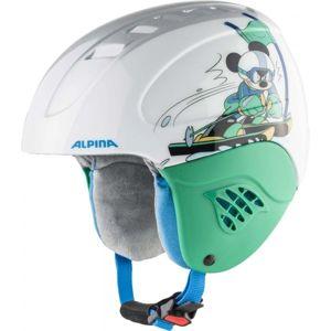 Alpina Sports CARAT DISNEY SET MICKEY bílá (51 - 55) - Dětský lyžařský set