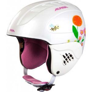 Alpina Sports CARAT bílá (48 - 52) - Dětská lyžařská helma