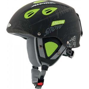 Alpina Sports GRAP JR černá 54-57 - Dětská lyžařská helma