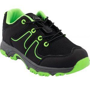 ALPINE PRO THEO zelená 28 - Dětská outdoorová obuv