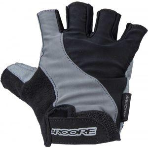 Arcore A044B šedá S - Cyklistické rukavice