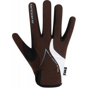 Arcore HIVE hnědá M - Cyklistické rukavice
