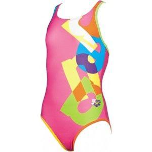 Arena G PATCH JR ONE PIECE - Dívčí plavky