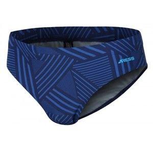 Aress FOX tmavě modrá 128-134 - Chlapecké plavky