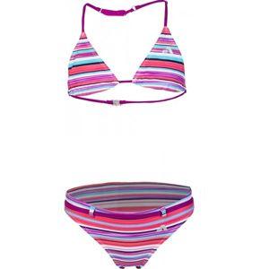 Aress KLARA světle růžová 140-146 - Dívčí dvoudílné plavky