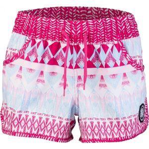 Aress OPAL růžová 140-146 - Dívčí plavecké šortky