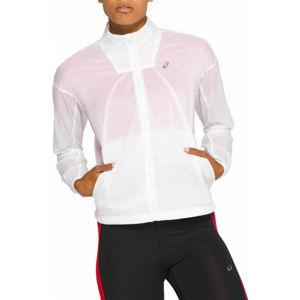 Asics TOKYO JACKET bílá XL - Dámská běžecká bunda