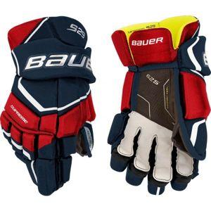 Bauer SUPREME S29 GLOVE JR červená 11 - Hokejové rukavice