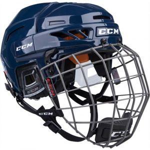 CCM FITLITE 90 COMBO SR modrá (51 - 56) - Hokejová helma