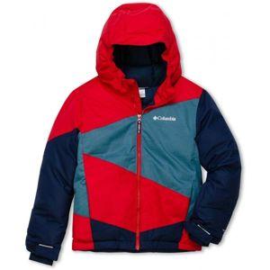 Columbia WILDSTAR JACKET červená L - Chlapecká zimní bunda