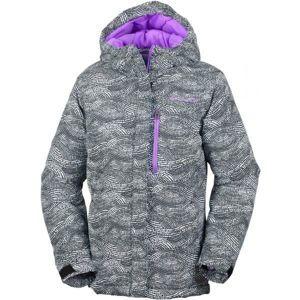 Columbia ALPINE FREE FALL JACKET GIRLS šedá XL - Dívčí zimní bunda