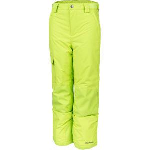 Columbia Y BUGABOO II PANT žlutá M - Dětské zateplené kalhoty