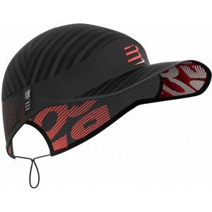 Compressport PRO RACING CAP černá UNI - Běžecká čepice