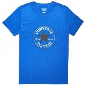 Converse CORE SOLID CHUCK PATCH CREW - Dámské tričko