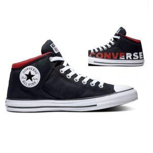 Converse CHUCK TAYLOR ALL STAR HIGH STREET černá 44 - Pánské kotníkové tenisky