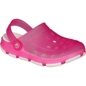 Coqui JUMPER FLUO růžová 26/27 - Dětské sandály