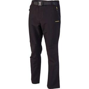 Crossroad ALBERT černá L - Pánské softshellové kalhoty