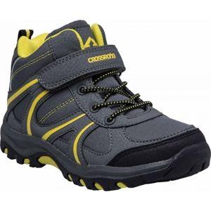 Crossroad DAMIEN II šedá 28 - Dětská kotníková obuv