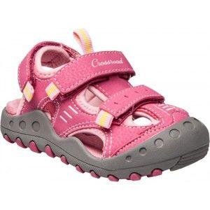 Crossroad MAGIC II růžová 26 - Dětské sandály