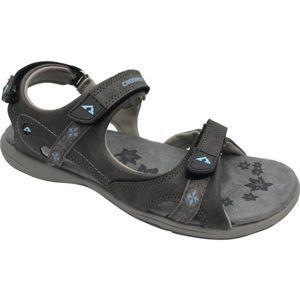 Crossroad MANILA tmavě šedá 38 - Dámské sandály