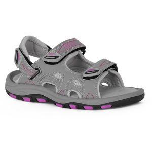 Crossroad MEAGAN šedá 28 - Dětské sandály