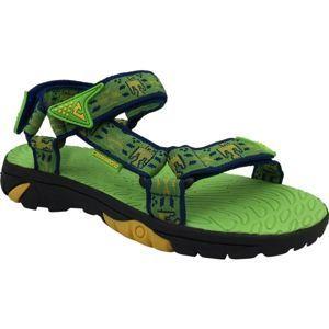Crossroad MEPER zelená 28 - Dětské sandály