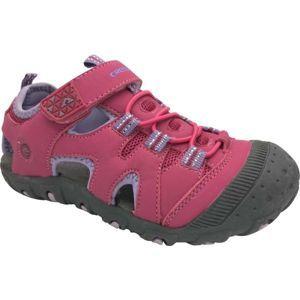 Crossroad MUGEN fialová 31 - Dětské sandály