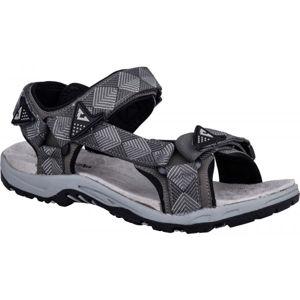 Crossroad MADDY šedá 44 - Pánské sandály