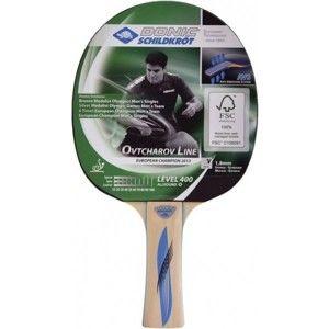 Donic OTVCHAROV 400 FSC tmavě zelená  - Pálka na stolní tenis