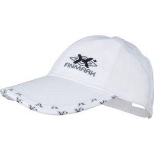 Finmark DĚTSKÁ LETNÍ ČEPICE šedá UNI - Letní dětská baseballová čepice