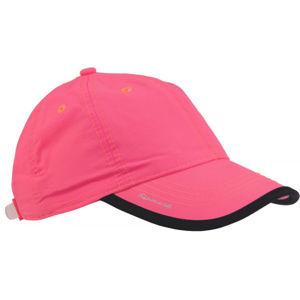 Finmark FNKC972 růžová UNI - Dětská baseballová čepice