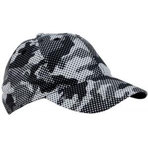 Finmark FNKC975 šedá UNI - Dětská baseballová čepice