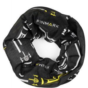 Finmark FS-009 černá UNI - Multifunkční šátek