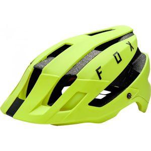 Fox FLUX MIPS žlutá S/M - Cyklistická přilba