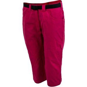 Hannah JESY růžová 38 - Dámské 3/4 kalhoty