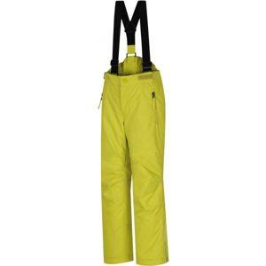 Hannah KALHOTY AKITA JR žlutá 116 - Dětské lyžařské kalhoty