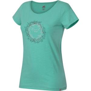 Hannah KARMELA světle zelená 40 - Dámské tričko