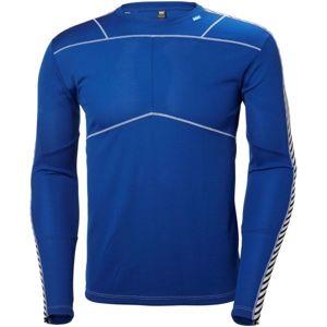 Helly Hansen LIFA CREW modrá L - Pánské triko s dlouhým rukávem